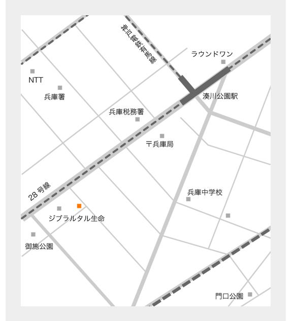 中井瓦店地図