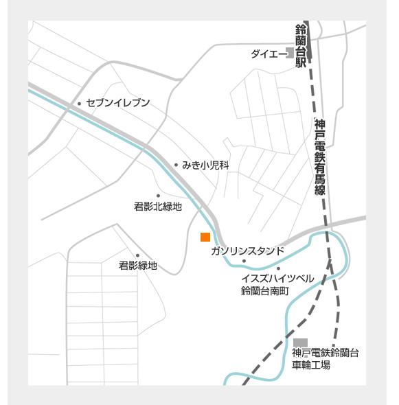 扇屋商店地図